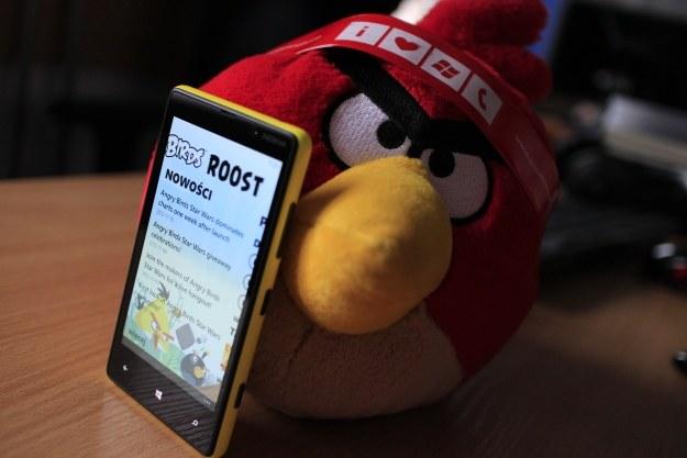 Nokia dodała również aplikację Angry Birds Roost /INTERIA.PL