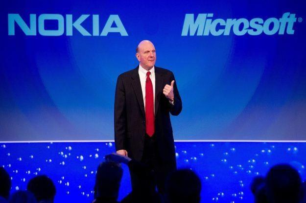 Nokia i MS łączą siły - ile to będzie kosztowało? /AFP