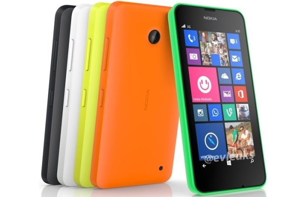 Nokia Lumia 630.  Fot. @evleaks /materiały prasowe