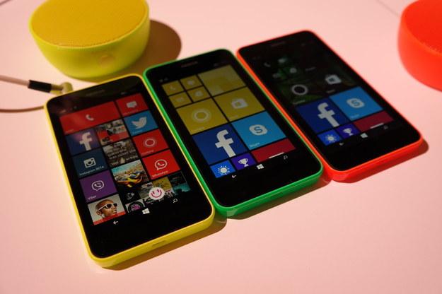 Nokia Lumia 630 /INTERIA.PL