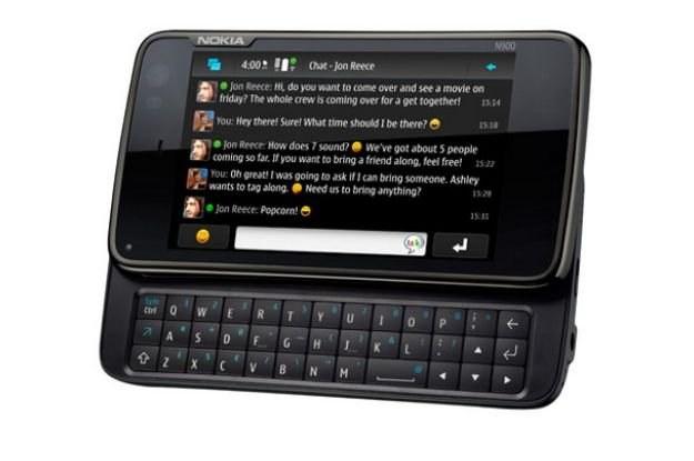 Nokia N900 - bardzo udany, ale zupełnie nie doceniowy smartfon Nokii /materiały prasowe