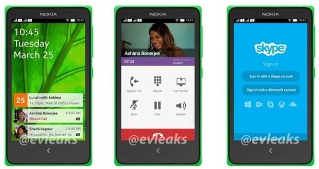 Nokia Normandy.   Fot. @evleaks /materiały prasowe