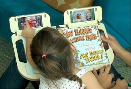 Nokia Storyplay: książka dla dzieci z możliwością prowadzenia wideokonferencji i podwójnym ekranem /HeiseOnline