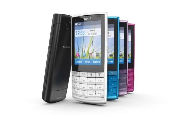 Nokia X3-02 /materiały prasowe