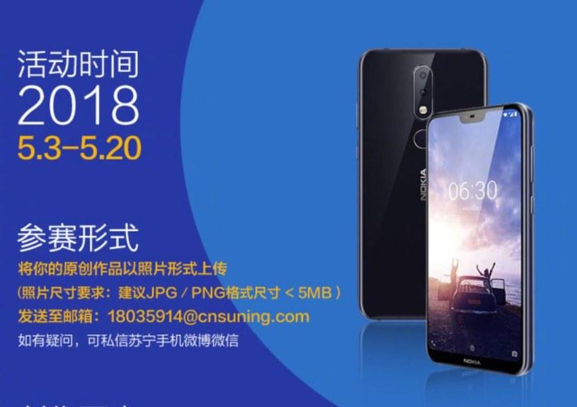 Nokia X6 zostanie zaprezentowana w połowie maja /Weibo /materiał zewnętrzny