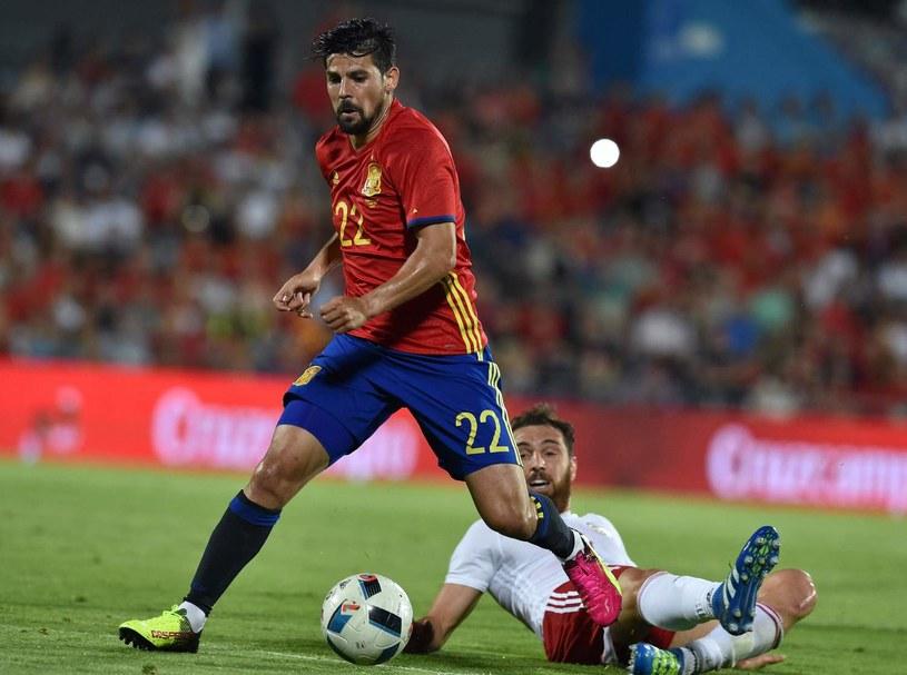 Nolito brał udział w mistrzostwach Europy we Francji /AFP