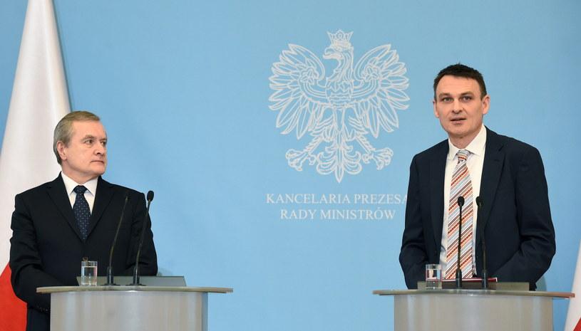 Nominację Wojciecha Kaczmarczyka ogłosił wicepremier i minister kultury Piotr Gliński /Radek Pietruszka /PAP