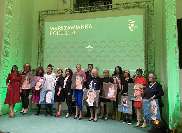 Nominowane do nagrody Warszawianka Roku 2021 /Magdalena Grajnert /RMF FM