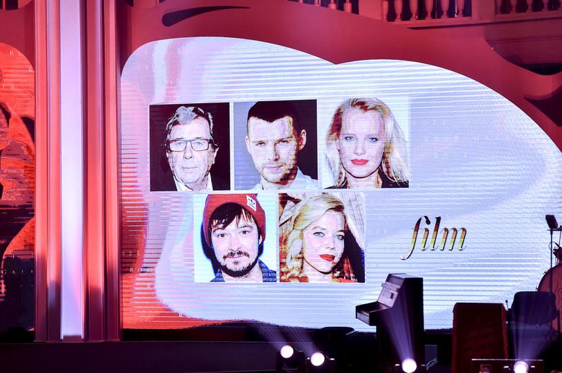 Nominowani w kategorii Film - wygrał Janusz Gajos /AKPA