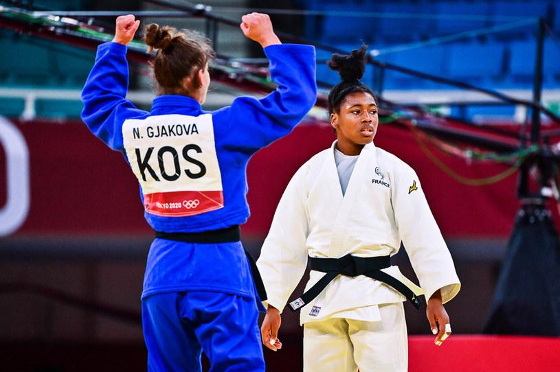 Nora Gjakova ze złotem dla Kosowa w judo. Tokio 2020 /Icon Sport /Newspix