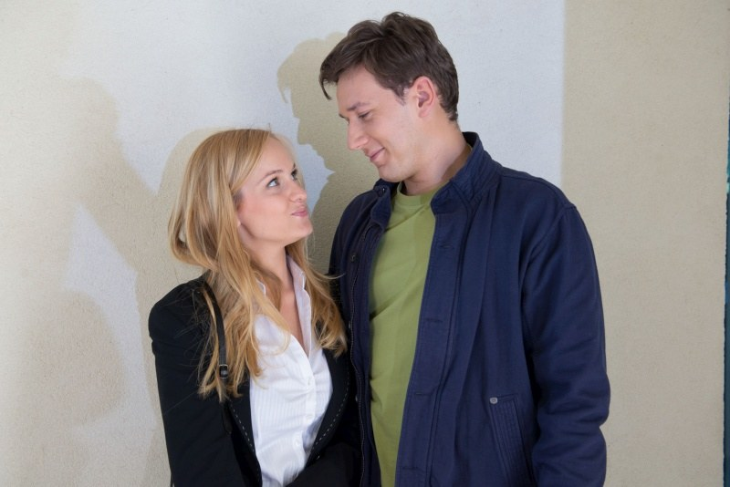 Norbert (Kuba Świderski) i Kamila (Michalina Robakiewicz) /Agencja W. Impact