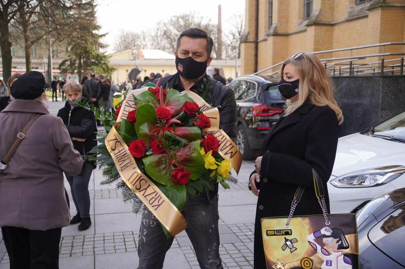 Norbi na pogrzebie Krzysztofa Krawczyka /Tricolors /East News