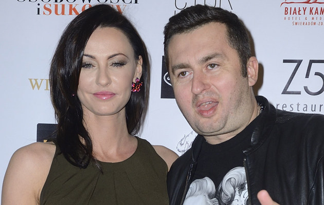 Norbi z byłą już żoną Marleną /Jarosław Antoniak /MWMedia