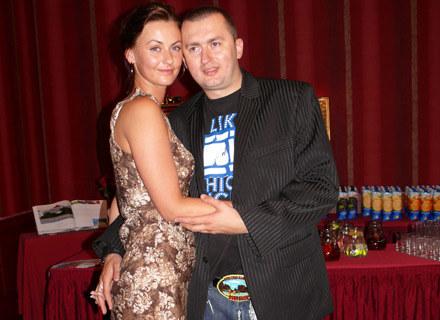 Norbi z żoną - fot. Tomek Piekarski /MWMedia