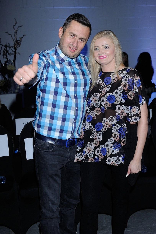 Norbi z żoną Marzeną /Michał Wargin /East News