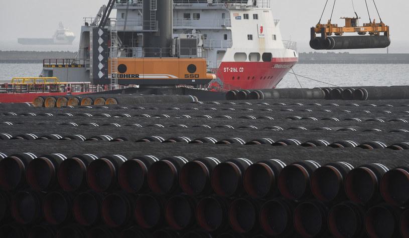 Nord Stream 2; zdj. ilustracyjne /STEFAN SAUER/AFP /East News
