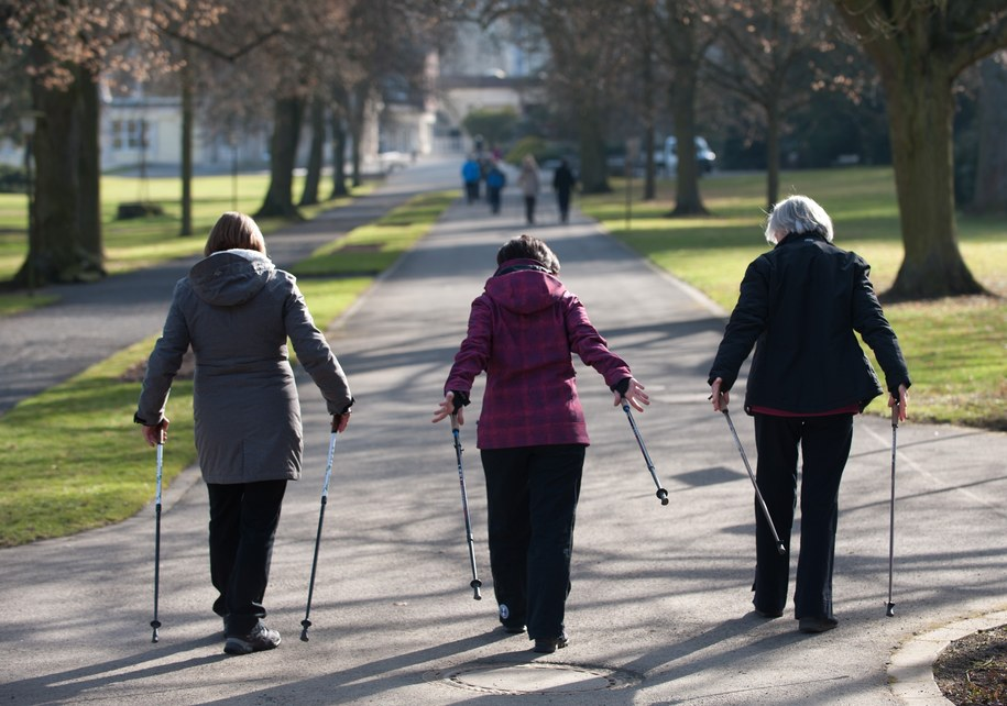 Nordic Walking /UWE ZUCCHI  /PAP/EPA