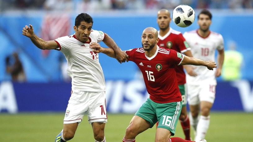 Nordin Amrabat w meczu z Iranem /Getty Images