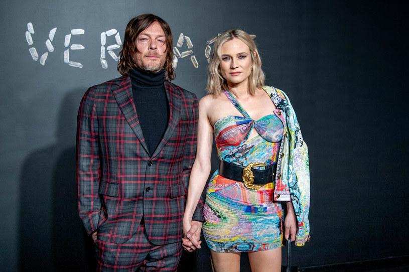 Norman Reedus i Diane Kruger w 2018 roku /Roy Rochlin/FilmMagic /Getty Images
