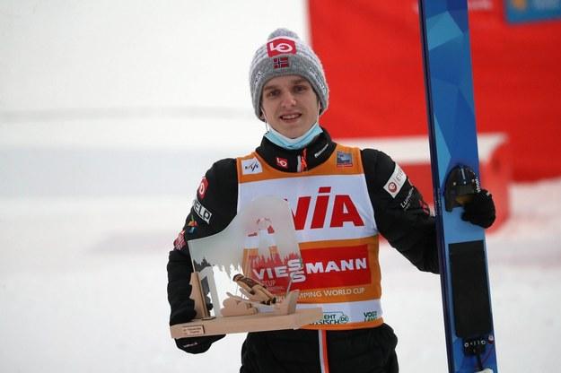 Norweg Halvor Egner Granerud / Grzegorz Momot    /PAP