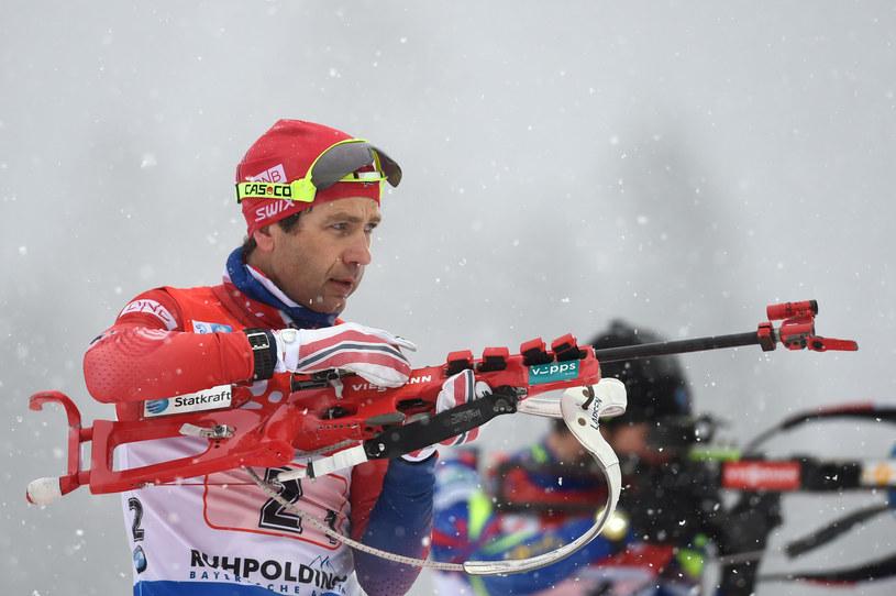 Norweg Ole Einar Bjoerndalen /AFP