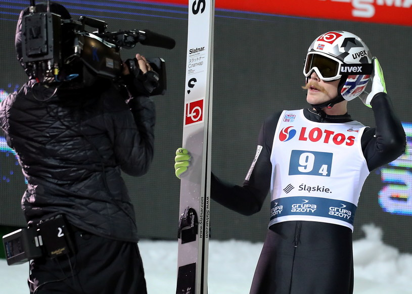 Norweg Robert Johansson /Grzegorz Momot /PAP