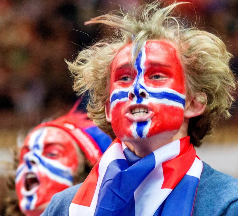 Norwescy kibice na ME w Polsce /AFP
