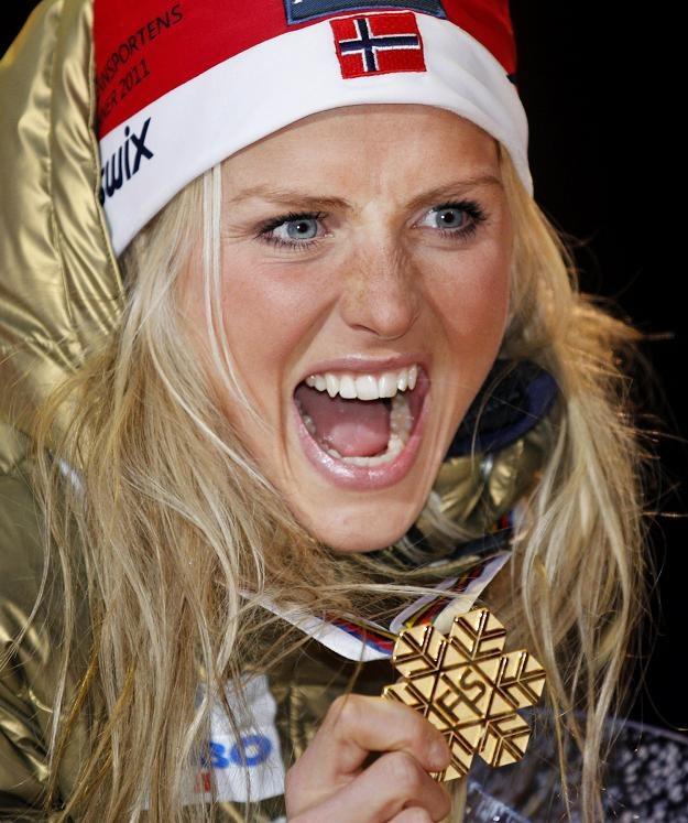 Norweska gwiazda biegów narciarskich Therese Johaug /AFP