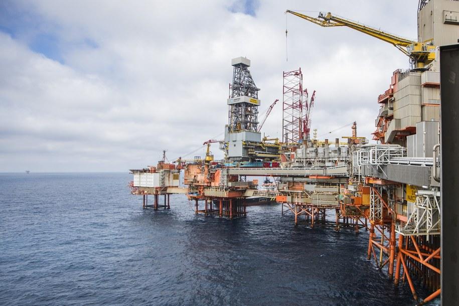 Norweska platforma na Morzu Północnym (zdj. ilustracyjne) /Hakon Mosvold LARSEN / NTB Scanpix /PAP/EPA