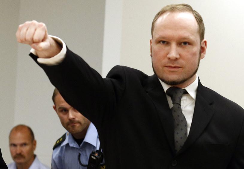 Norweski masowy morderca Anders Breivik /AFP