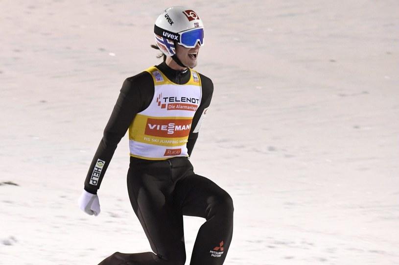 Norweski skoczek Daniel Andre Tande /AFP