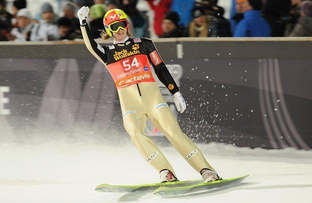 Norweski skoczek narciarski Tom Hilde wygrał kwalifikacje w Klingenthal /AFP