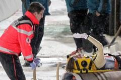 Norweski skoczek złamał kręgosłup