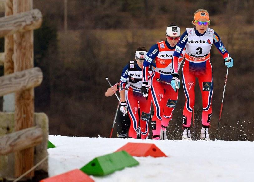 Norweskie biegaczki narciarskie są w znakomitej formie /AFP