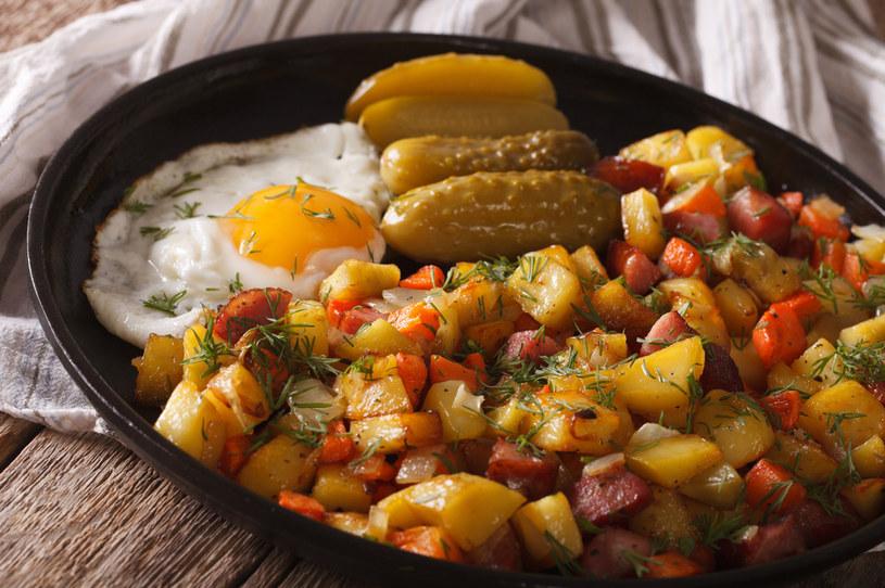 """Norweskie ziemniaki z patelni """"pytipanne"""" /123RF/PICSEL"""