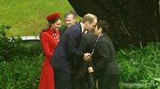 Nos w nos z księżną Kate. Wizyta książęcej pary w Nowej Zelandii