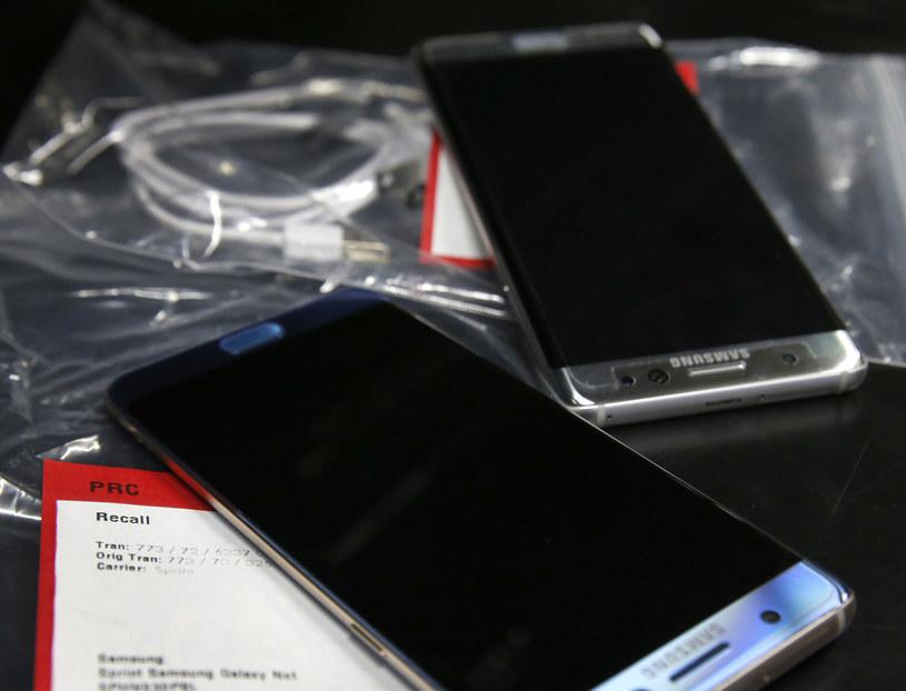 Note 7 - zdjęcie zrobione w sieci Best Buy, tuż przed wymianą smartfona na nowy model /AFP