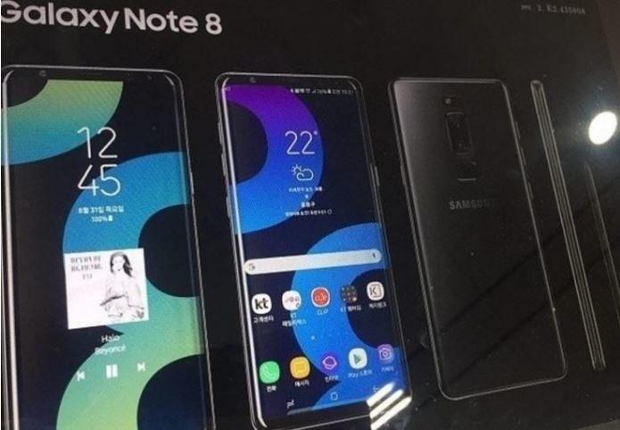 Note 8 ma być podobny do modelu S8 /Android Headlines /Internet