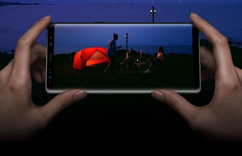 Note8 to pierwszy flagowiec Samsunga z podwójnym aparatem /materiały prasowe