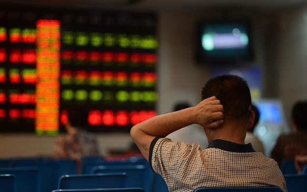 Notowania na chińskich giełdach papierów wartościowych w Szanghaju i Shenzhen zostały wstrzymane /AFP