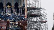 Notre Dame po pożarze. Ogień został zaprószony przez przypadek