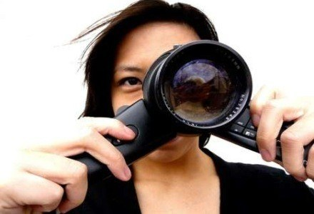 NOVA DSLR - czy tak będą wyglądać lustrzanki przyszłości /AFP