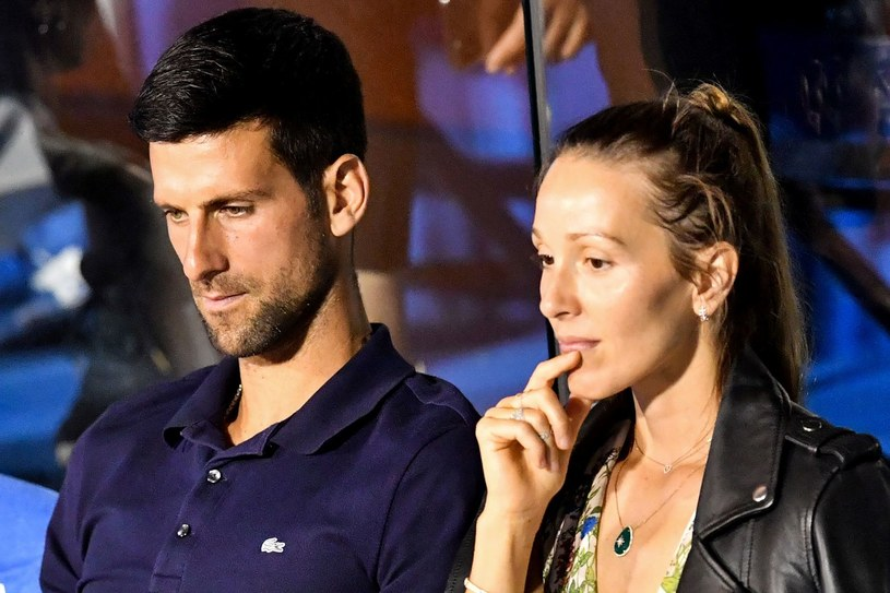 Novak Djković i jego żona Jelena podczas Adria Tour /AFP