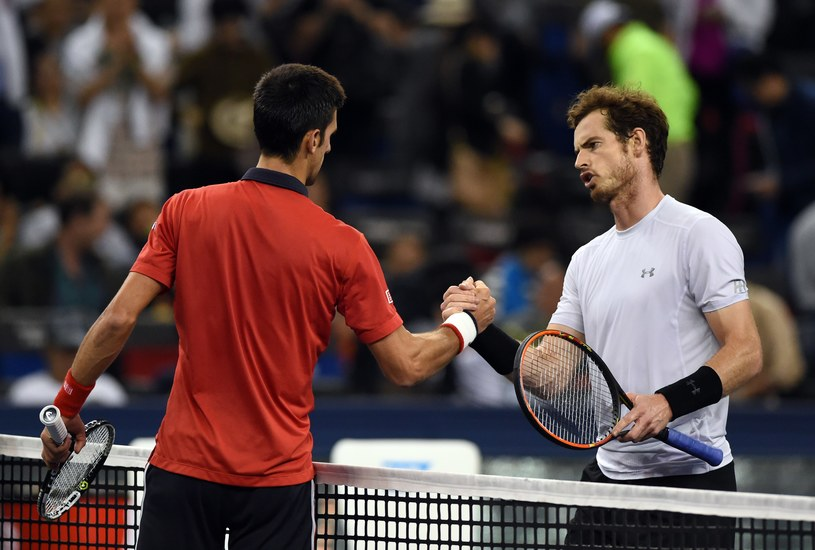 Novak Djoković i Andy Murray /AFP