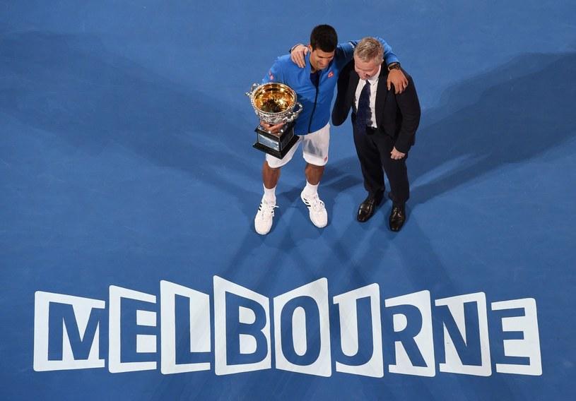 Novak Djoković i Craig Tiley /AFP