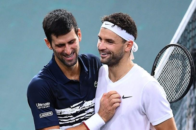 Novak Djoković i Grigor Dimitrow /AFP