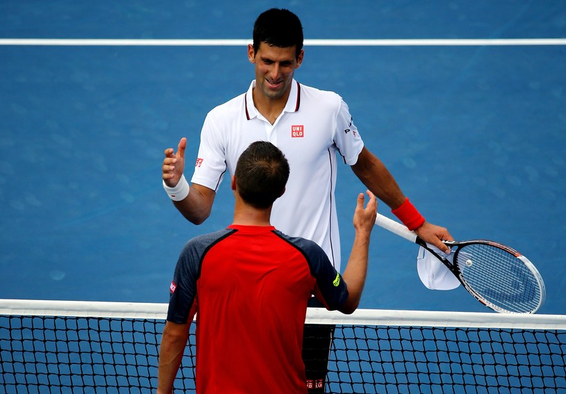 Novak Djoković i Philipp Kohlschreiber /AFP