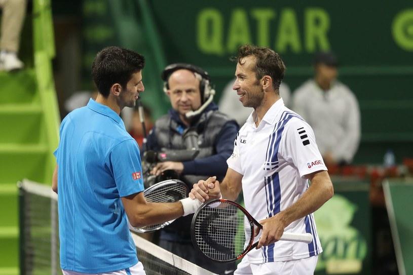 Novak Djoković i Radek Stepanek grali przeciwko sobie. Teraz będą współpracować /AFP