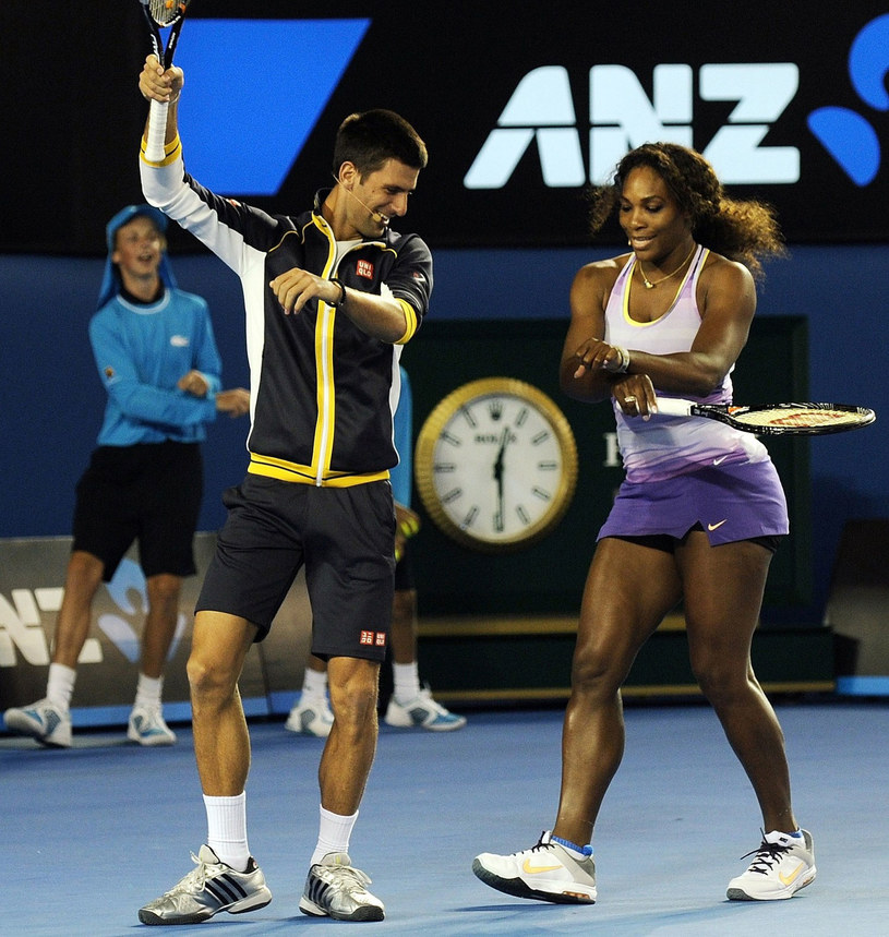 Novak Djoković i Serena Williams /AFP