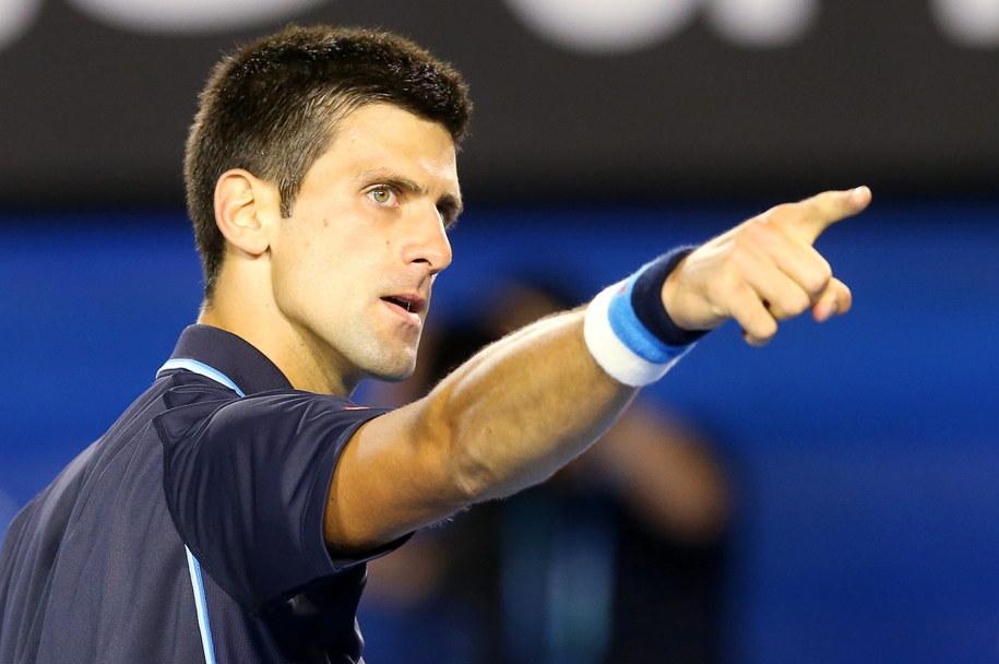 Novak Djokovic pokonał Hiszpana Fernando Verdasco /DAVID CROSLING /PAP/EPA